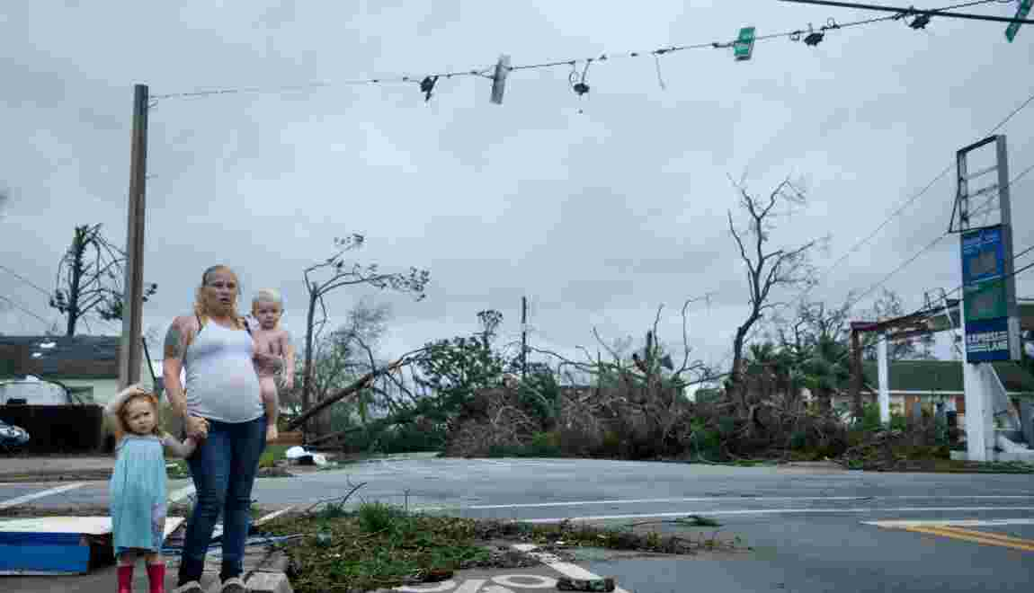L'ouragan Michael rétrogradé après avoir frappé le nord-ouest de la Floride