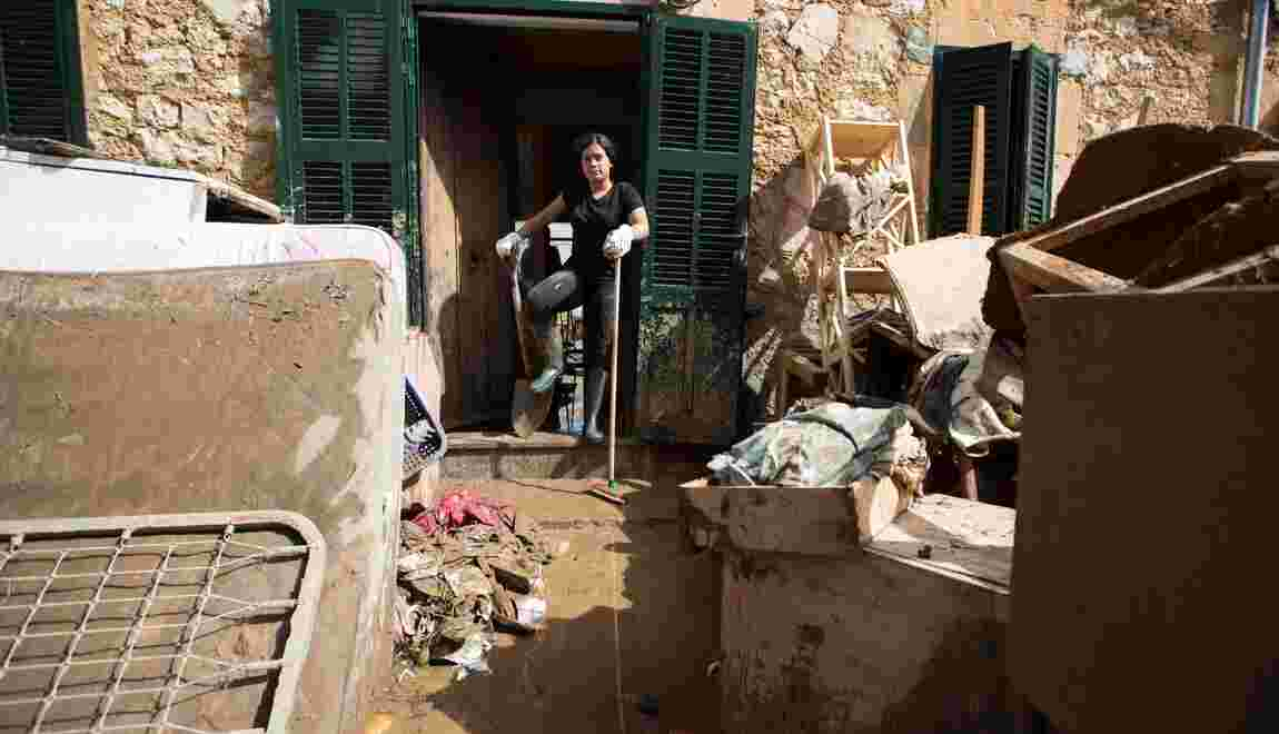 Douze morts dont six étrangers dans les inondations à Majorque
