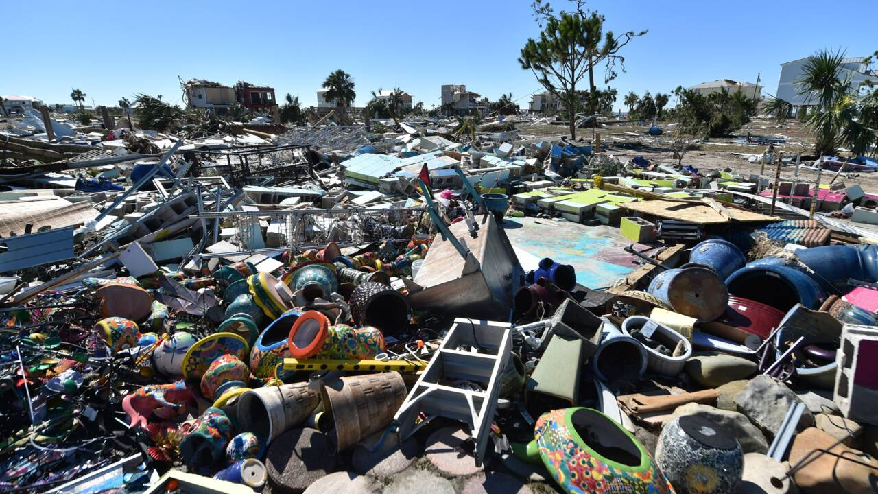 A Mexico Beach, le grand nettoyage post-ouragan durera longtemps