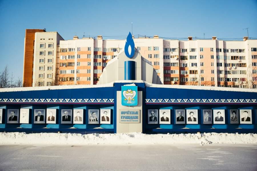 La «capitale» de Gazprom