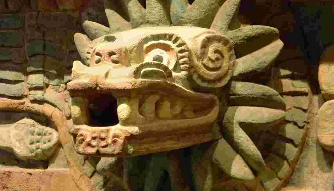Mayas, Toltèques, Aztèques… Ils vénéraient tous le serpent à plumes