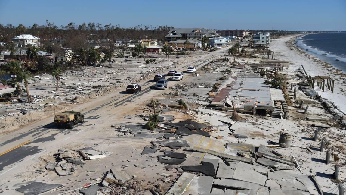 Communiquer, un défi pour les sinistrés de l'ouragan Michael