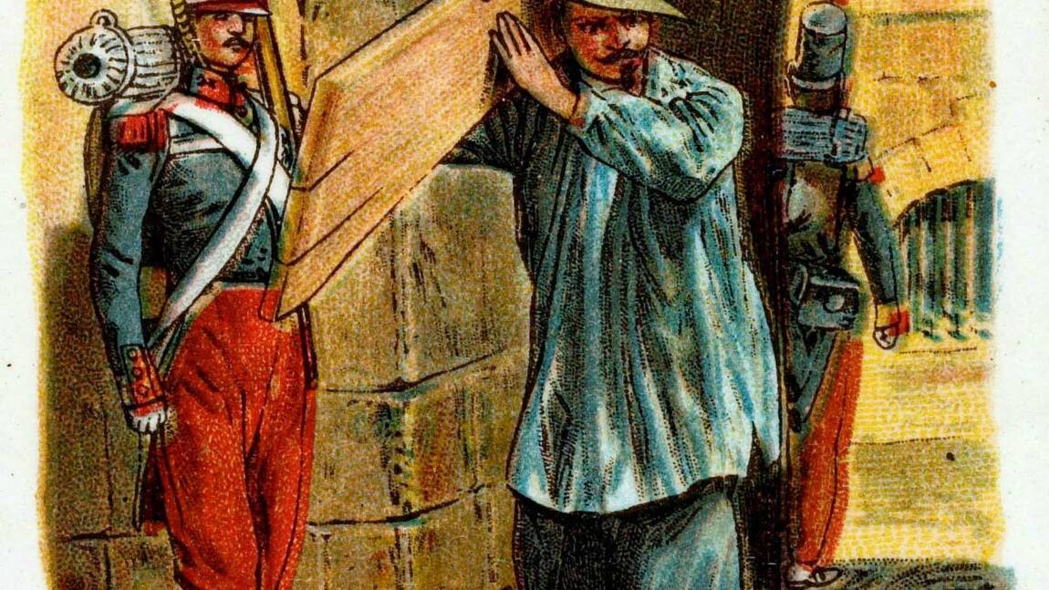 Napoléon III : son évasion de prison, déguisé en ouvrier