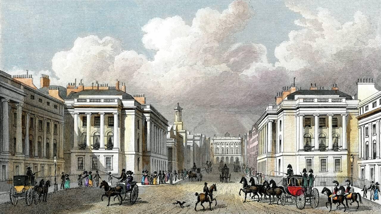 Napoléon III : l'expulsion à Londres de Louis-Napoléon par Louis Philippe