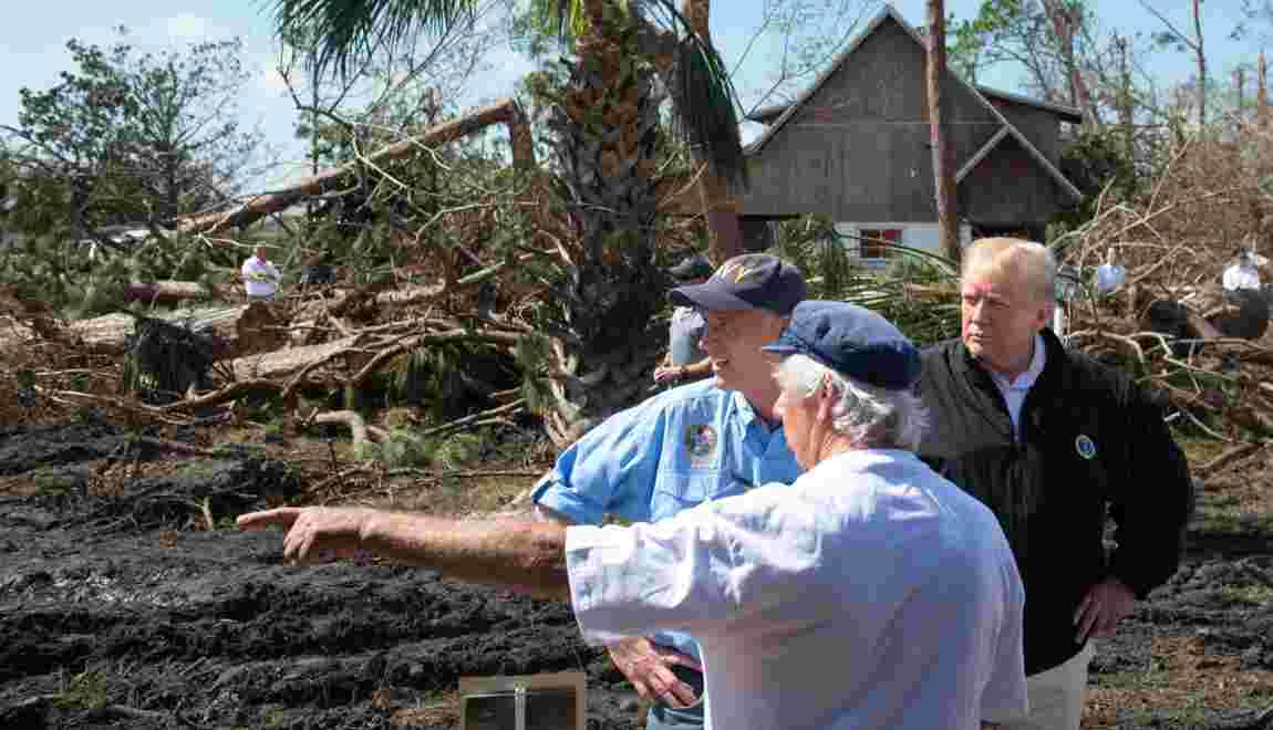 """Trump: """"Je suis un véritable défenseur de l'environnement"""""""