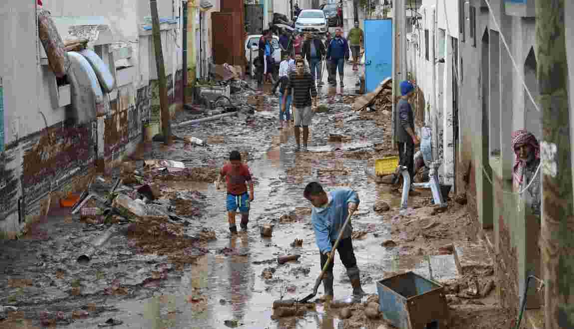 Au moins cinq morts dans de nouvelles intempéries en Tunisie