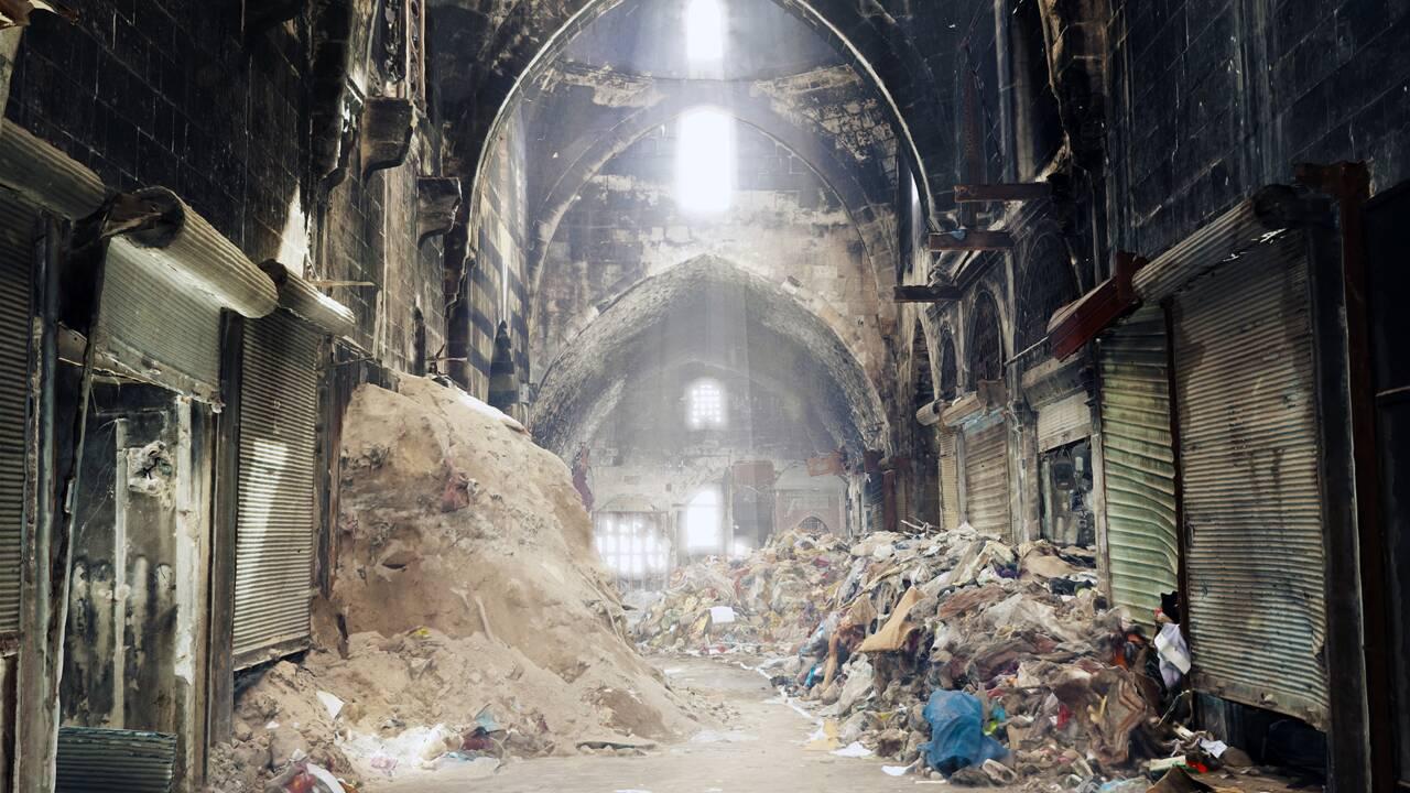 Syrie : les souks d'Alep reconstitués en 3D
