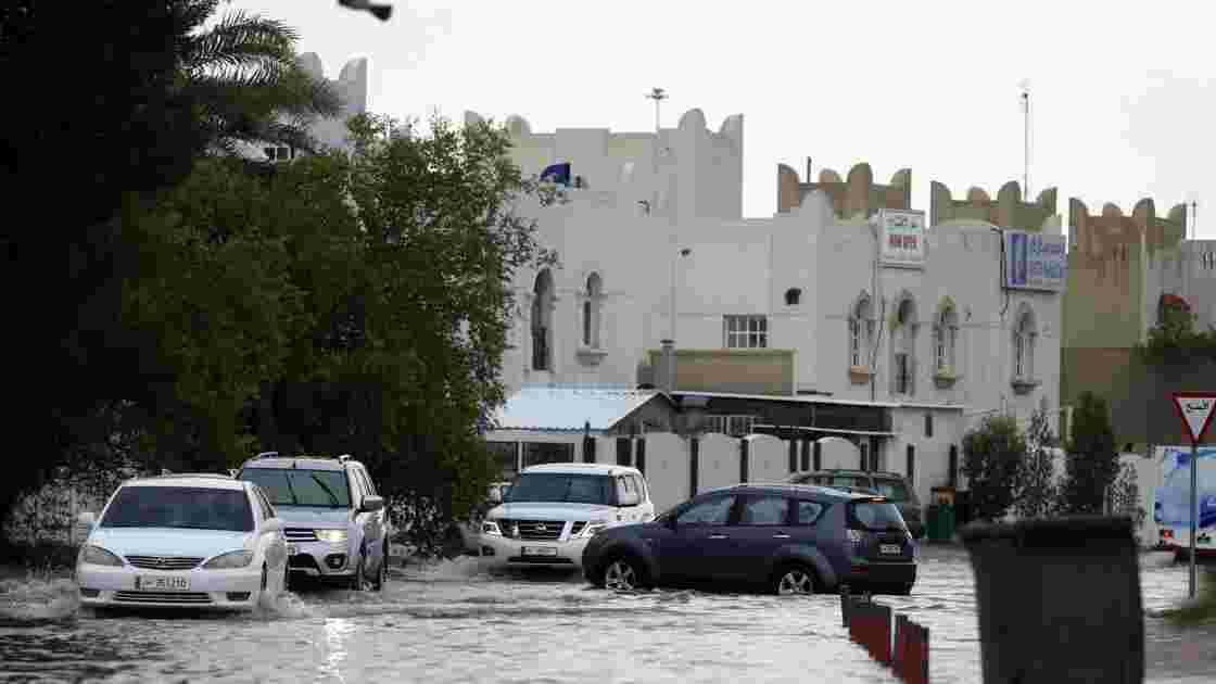 Le Qatar perturbé par d'importantes inondations