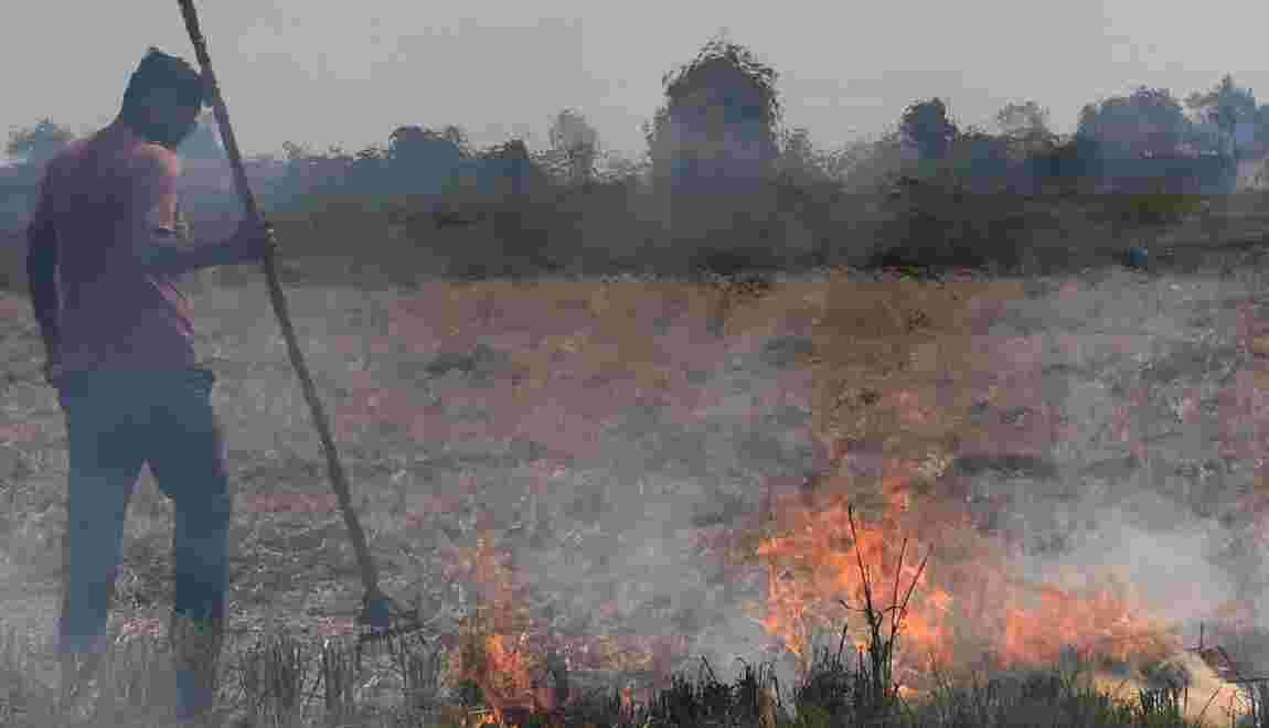 En Inde, Delhi tousse avec l'arrivée des brûlis et la saison de la pollution