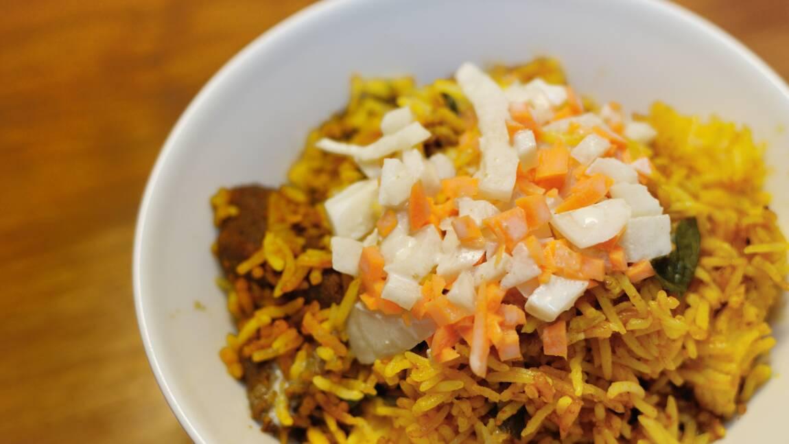 Inde : la recette du biryani, riz impérial des Moghols