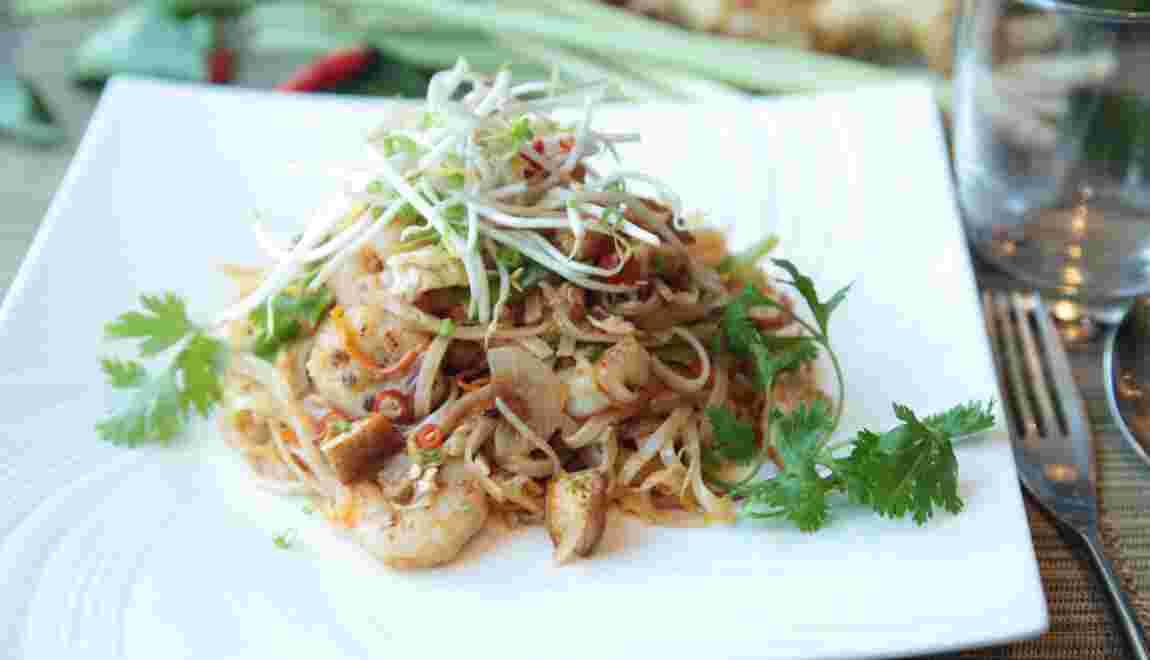 Le pad thaï, grande fierté des Thaïlandais