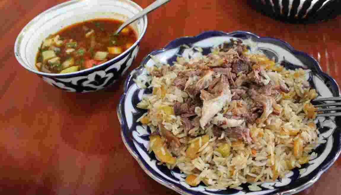 La recette du plov, le riz festif d'Ouzbékistan
