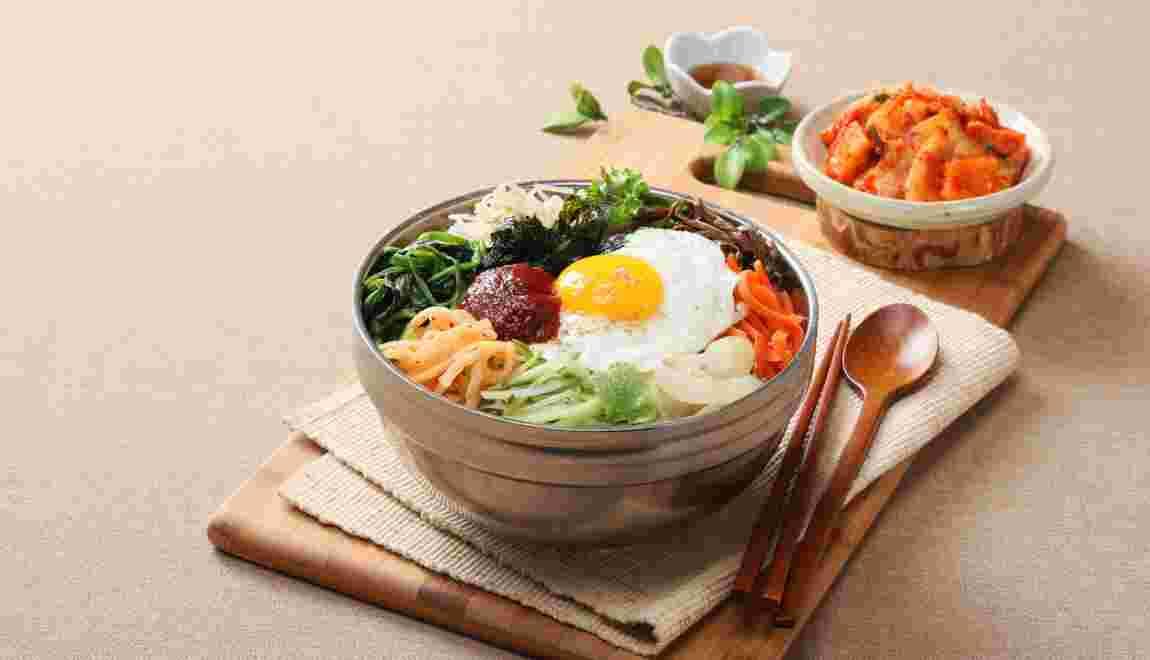 Le bibimbap, plat emblématique de la cuisine coréenne