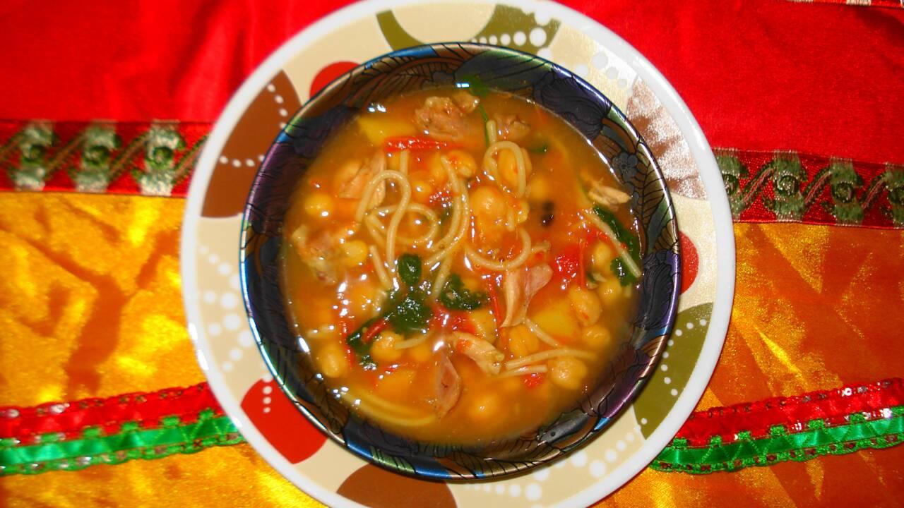 La harira, la divine soupe des Marocains