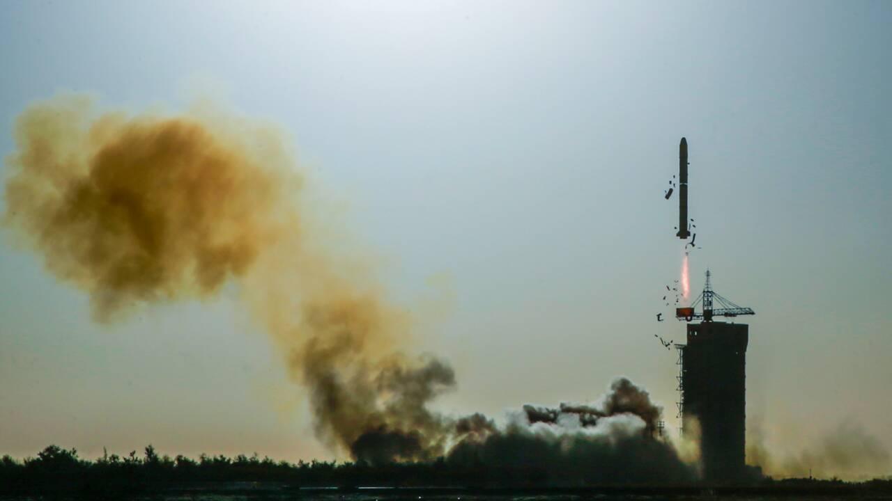 """Climat: lancement """"historique"""" d'un satellite franco-chinois"""