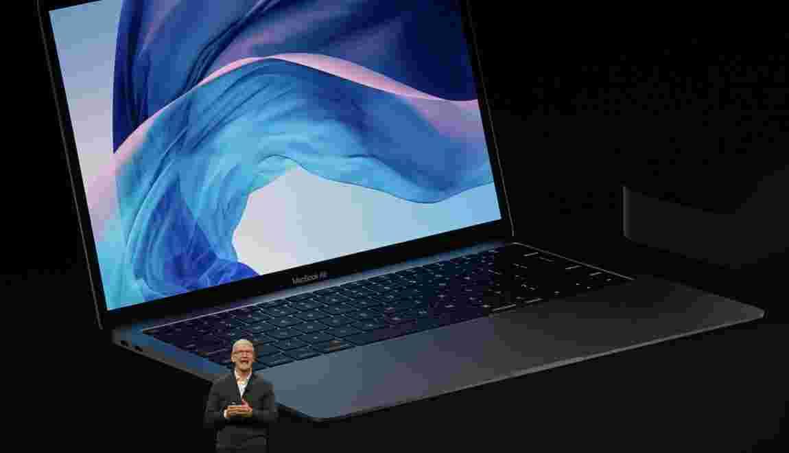 Apple dévoile un nouveau MacBook Air avec de l'aluminium 100% recyclé
