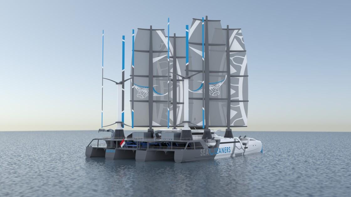 Un bateau français pour sauver l'océan