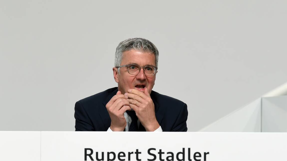 Dieselgate: l'ex-patron d'Audi va être remis en liberté