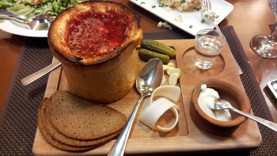Ukraine : le bortsch, la soupe écarlate des Slaves