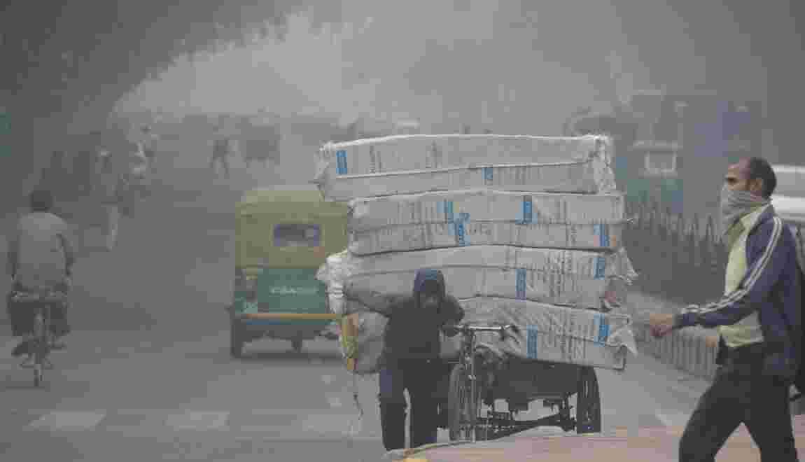 La pollution de l'air de Delhi, la mort à petit feu
