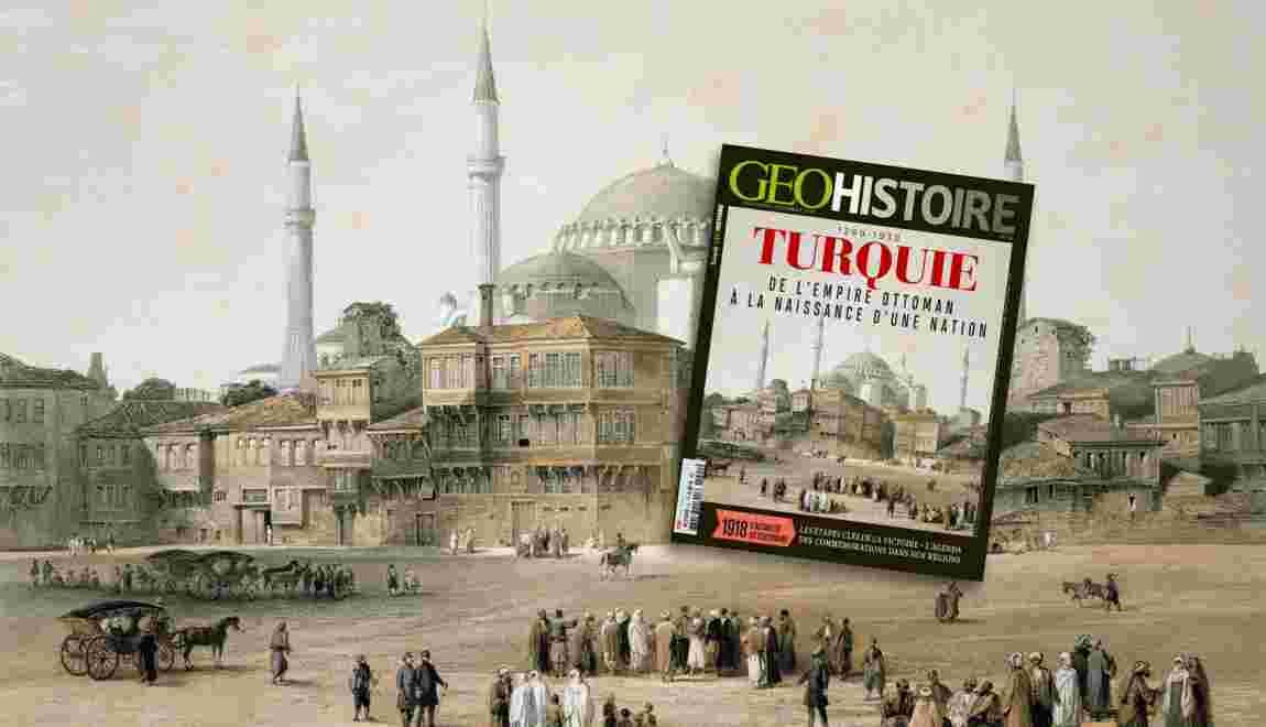La Turquie dans le nouveau GEO Histoire