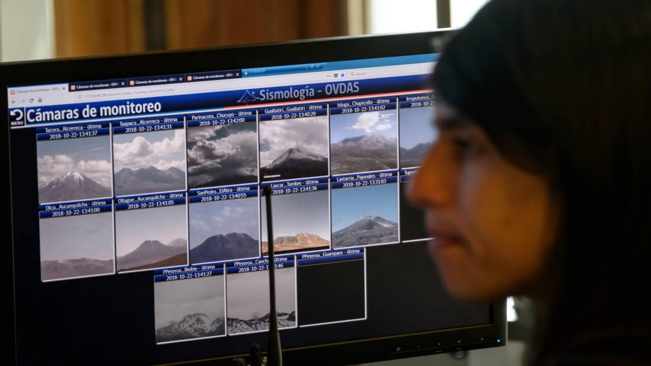 Le Chili surveille de près ses volcans, atout touristique majeur