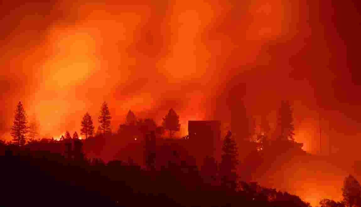 Incendies en Californie: état d'urgence décrété pour protéger les zones à risque