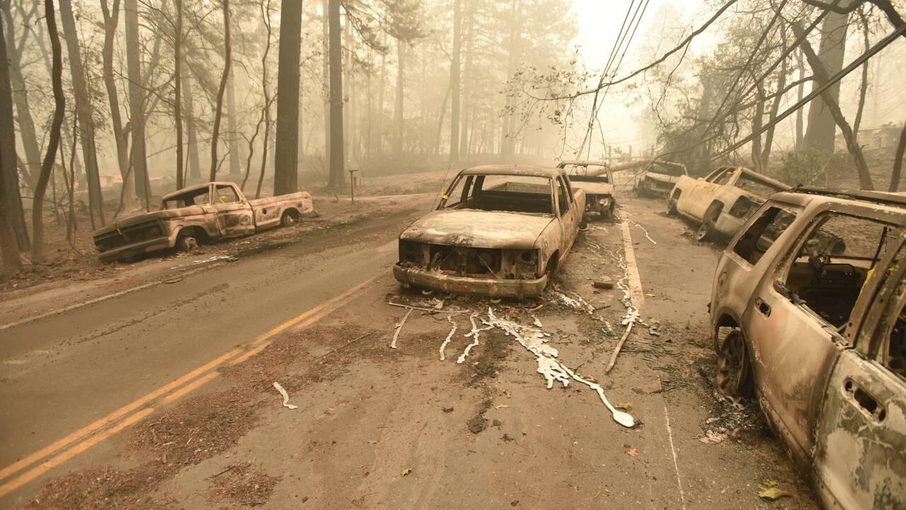 Incendie: 42 morts, de loin le pire bilan de l'histoire de la Californie