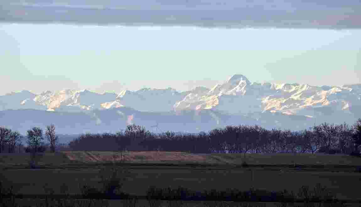 Réchauffement climatique : moitié moins de neige dans les Pyrénées d'ici à 2050
