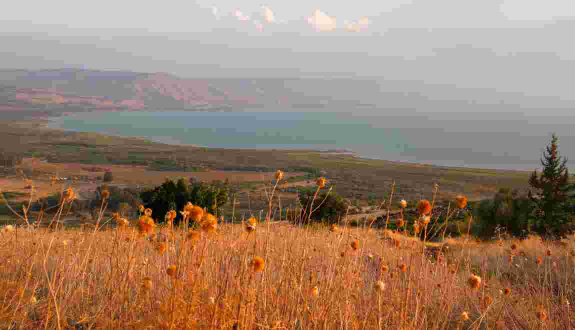 Miracle naturel surexploité, le lac de Tibériade s'assèche