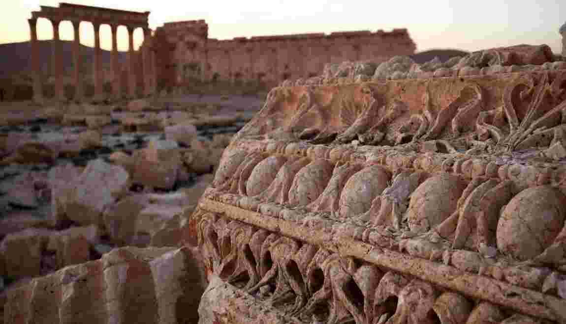 CARTE - Syrie : des vestiges millénaires dégradés par la guerre