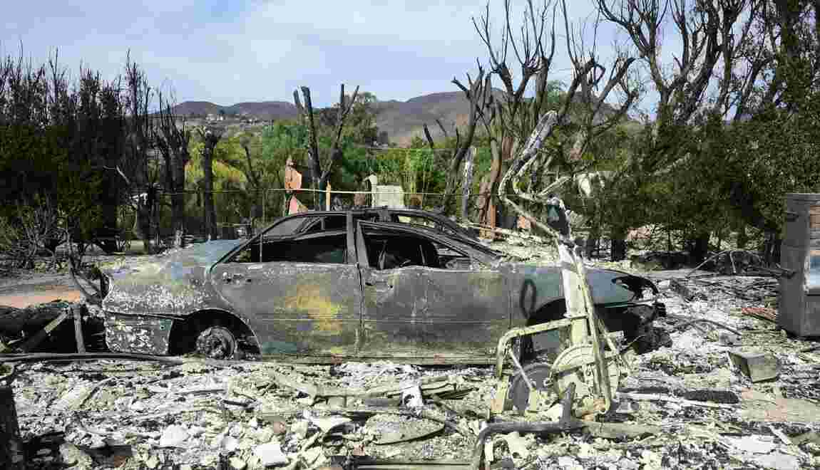 Californie: les incendies font toujours rage, au moins 59 victimes