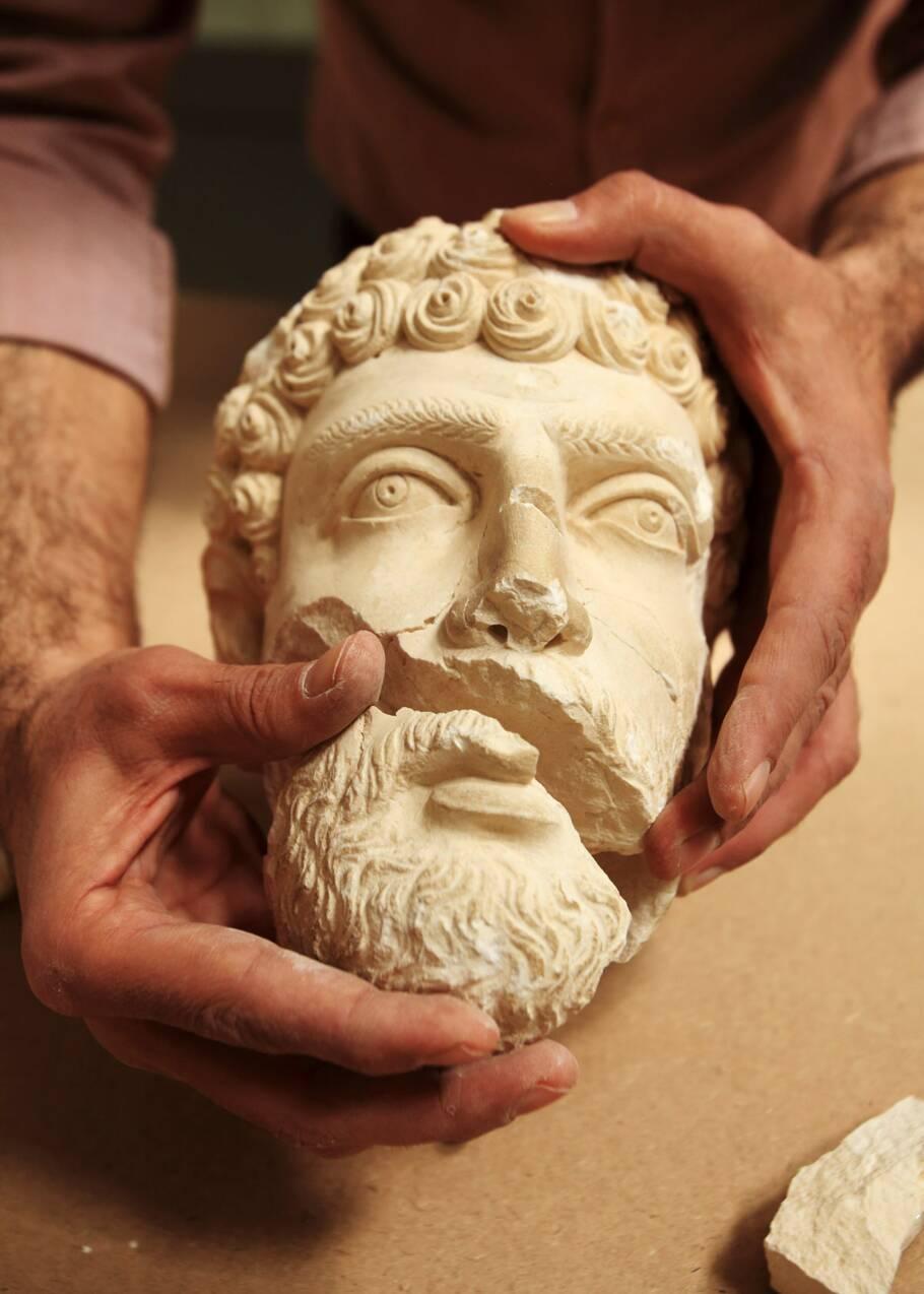 Les trésors en péril du patrimoine syrien