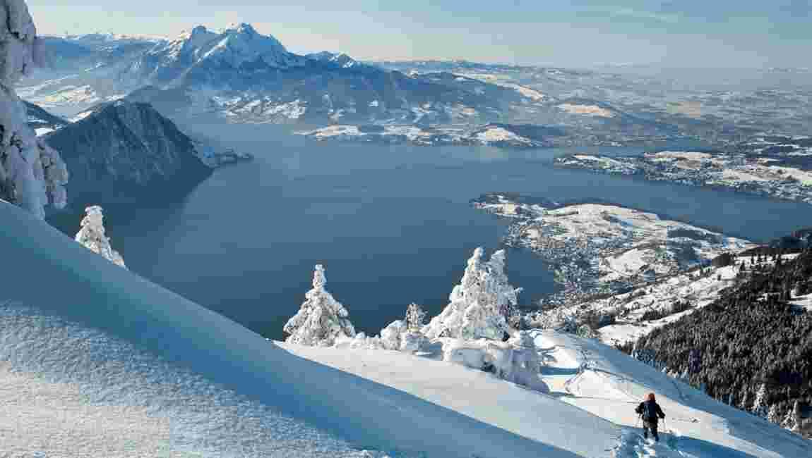 Lucerne et le lac des Quatre-Cantons, dans la contrée des belles descentes
