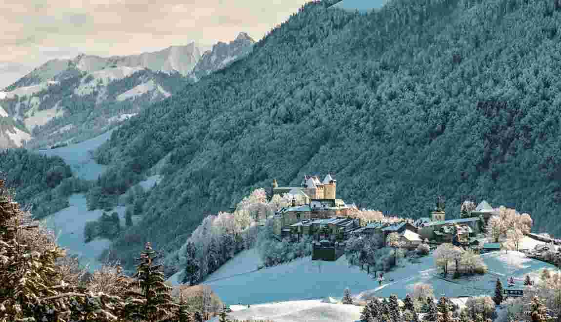 Le paradis blanc du Pays de Fribourg