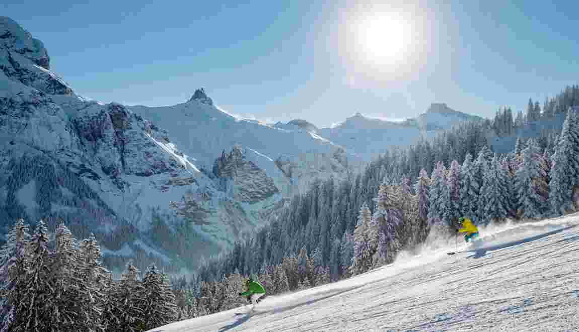 Tout schuss dans l'Oberland bernois