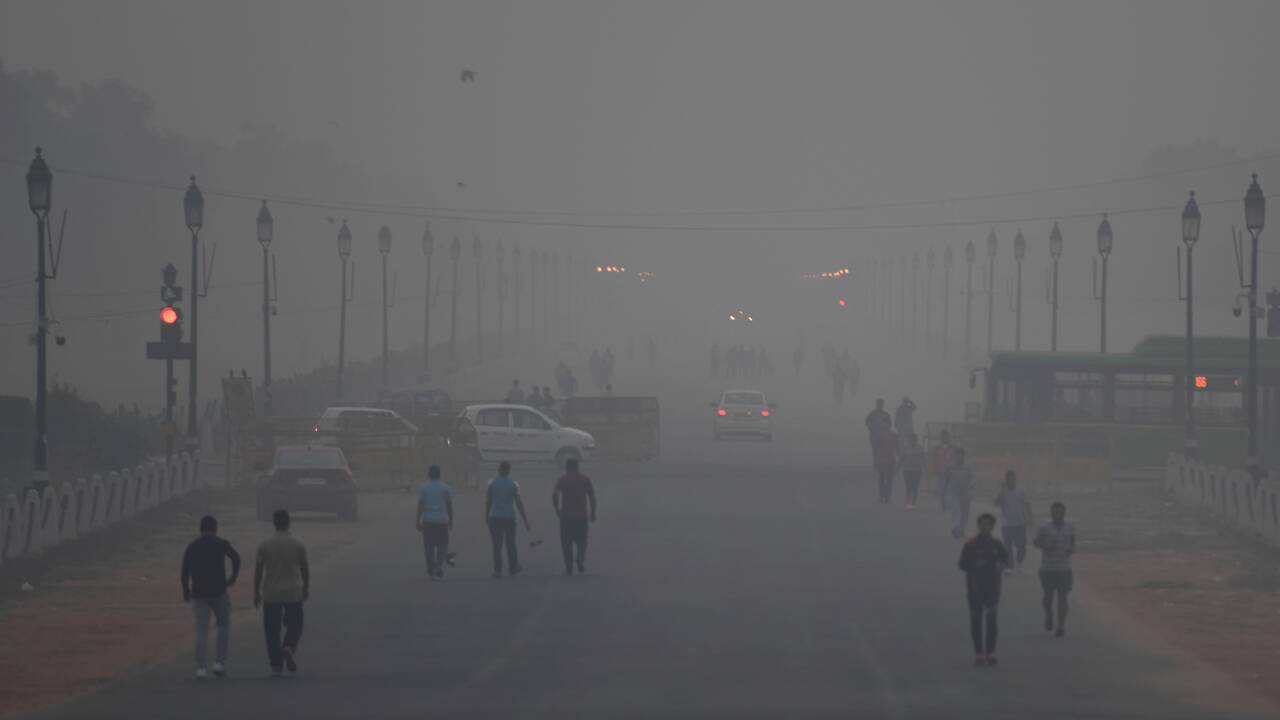La pollution de l'air à Delhi coûte dix années d'espérance de vie
