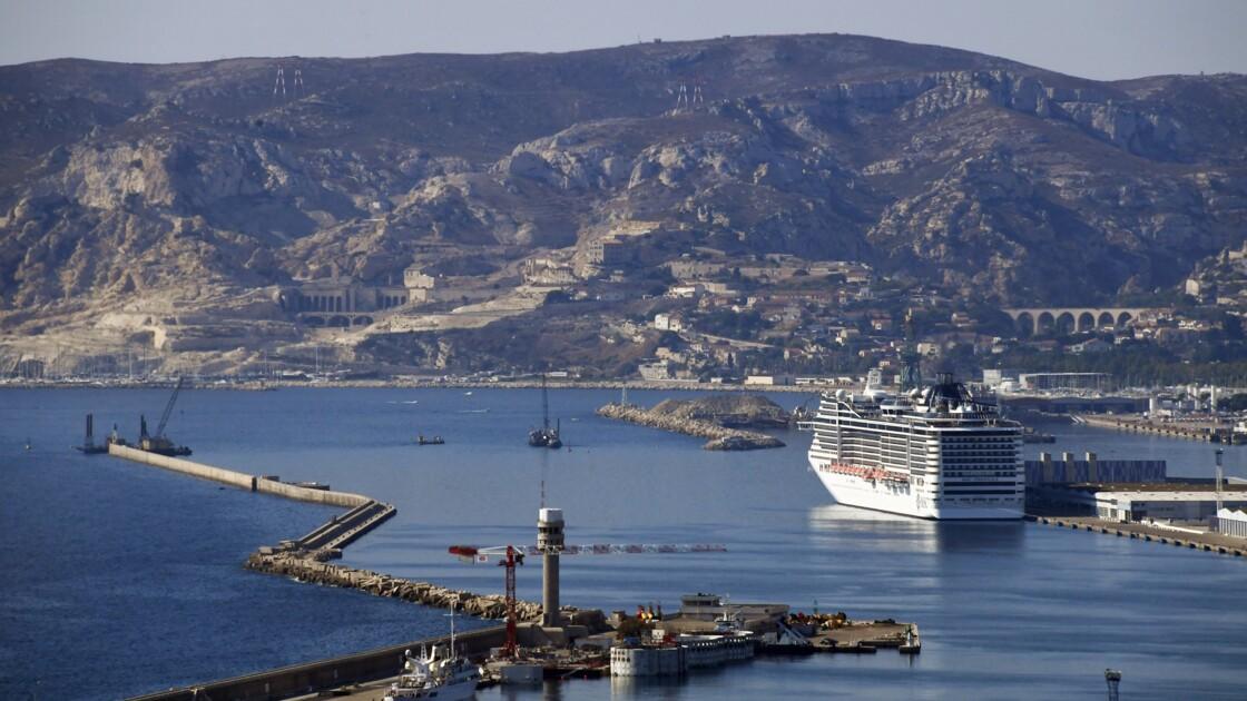 Marseille: un capitaine de navire de croisière condamné pour pollution de l'air, une première