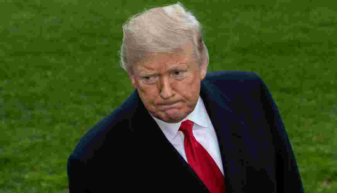 """Trump """"ne croit pas"""" à un rapport américain sur le changement climatique"""