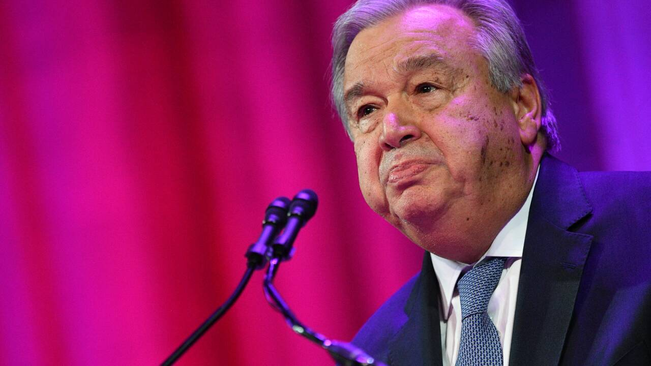 Climat: Antonio Guterres appelle les dirigeants du G20 à davantage d'ambition