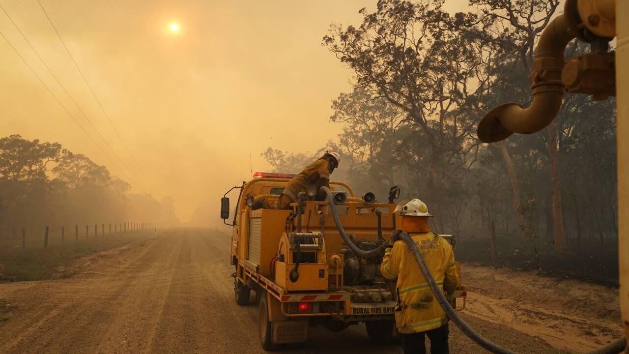 Incendies en Australie : des milliers d'évacués dans le Queensland