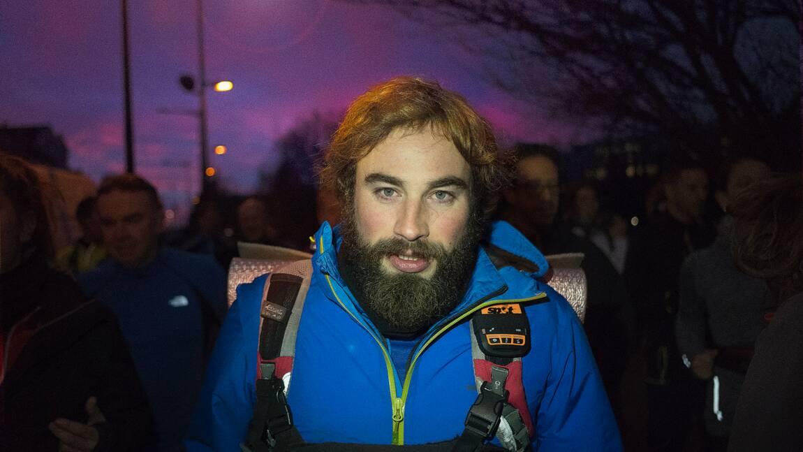 L'éco-aventurier Julien Moreau boucle son triathlon géant pour la planète