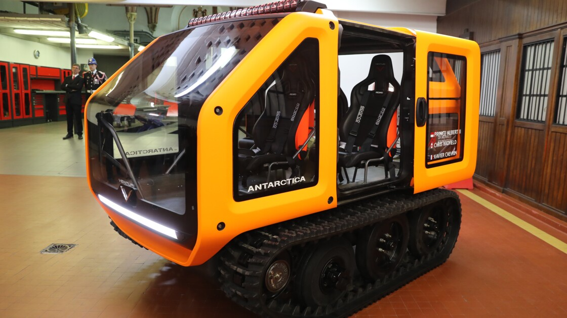 Antarctica: un véhicule 100% électrique pour explorer sans polluer