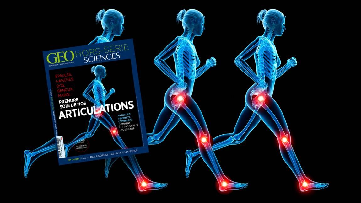 Hanches, dos, genoux… Les articulations dans le nouveau hors-série GEO Sciences