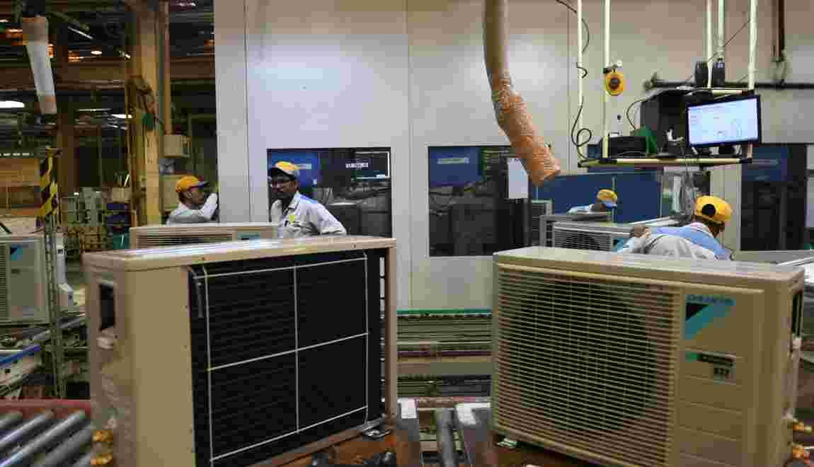 Froid dedans, plus chaud dehors: l'Inde dans le cercle vicieux des climatiseurs