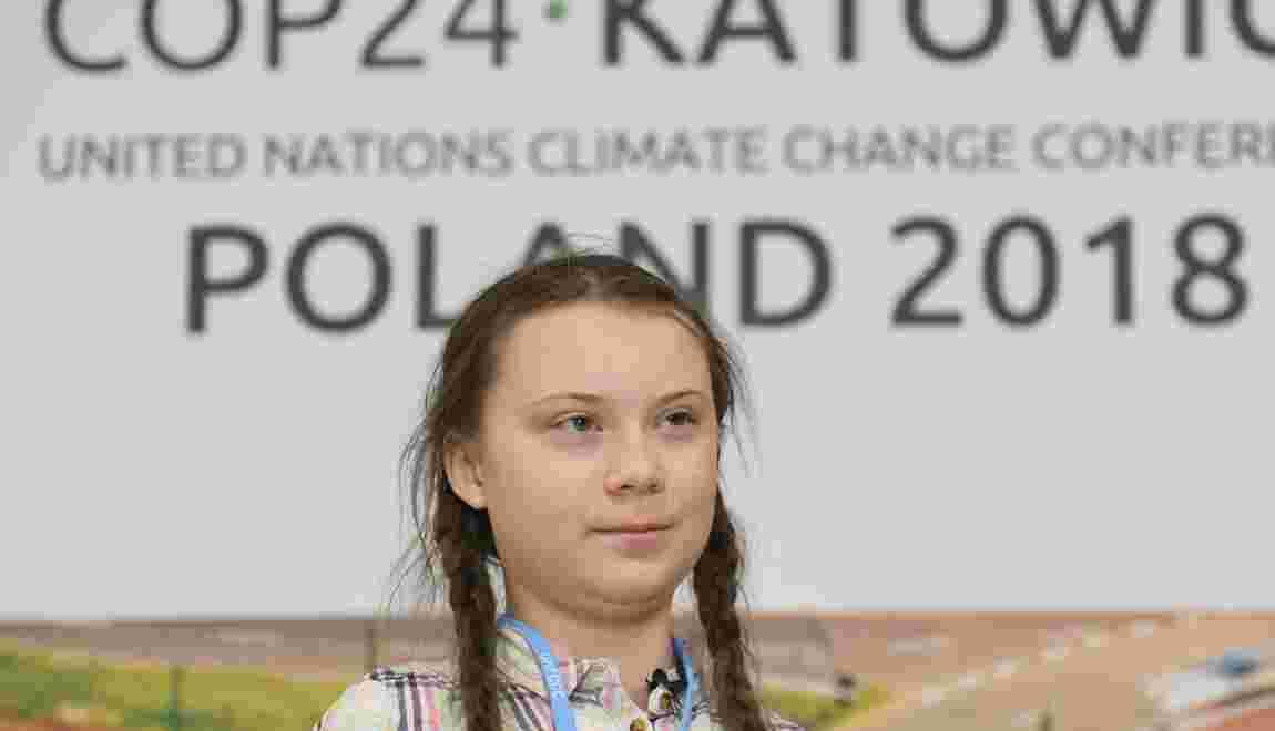 Climat: une ado en colère plaide en faveur des générations futures