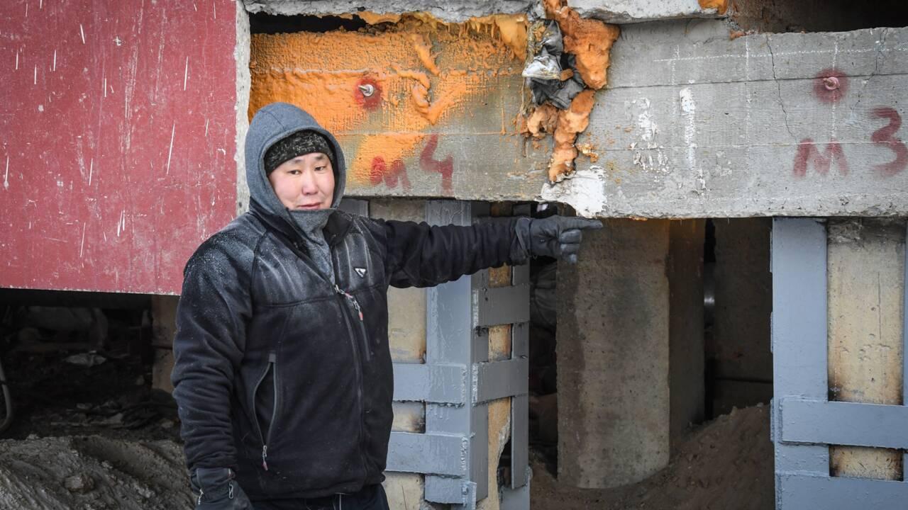 Réchauffement climatique, une région de Sibérie se bat pour garder son permafrost