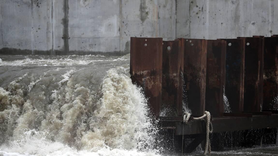 La Nouvelle-Orléans, déjà inondée, menacée par une forte tempête tropicale