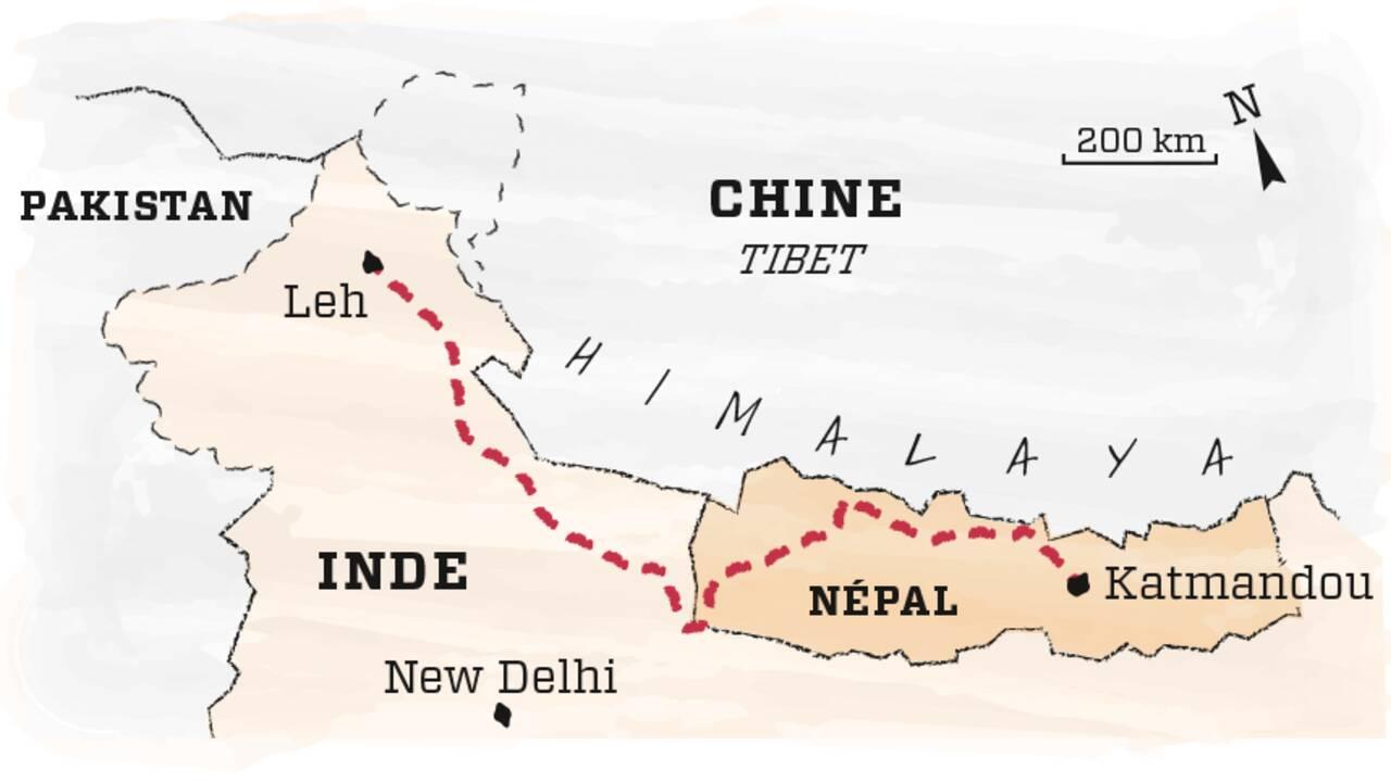 Traverser l'Himalaya pour revenir à l'essentiel, le projet d'Eliott Schonfeld, gagnant du concours GEO Aventure