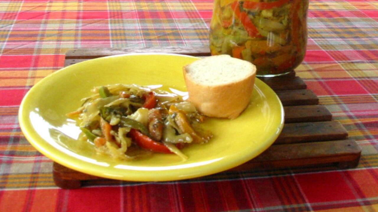 Ile Maurice : la recette des achards de légumes